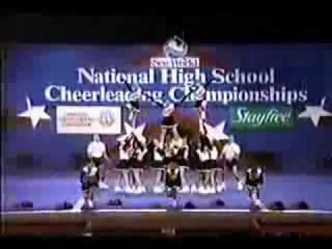 paul laurence dunbar high school 1993 cheerleading youtube