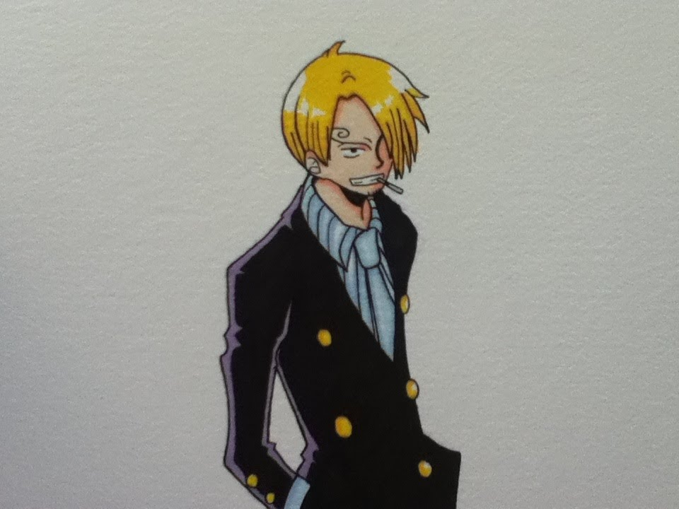 Drawing Sanji One Piece Youtube