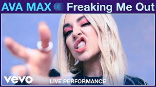 "Gambar cover Ava Max - ""Freaking Me Out"" Live Performance 