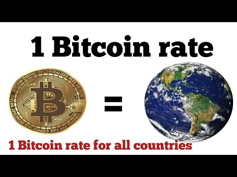 1 Bitcoin Price Equals Around The World | Bitcoin Price Usd | 1 Btc To Inr | Bitcoin Price Today