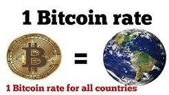 1 Bitcoin price Equals around the world   bitcoin price usd   1 btc to inr   Bitcoin price today