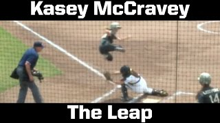 Army Softball: Kasey McCravey Leaps Over Catcher to Score vs. Lehigh 5-14-16