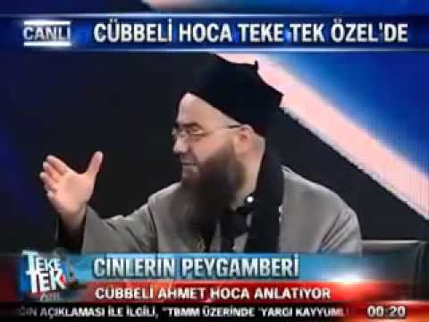 Cinlerin Alemi bana gösterildi İğne atcak yer Bulamazsın-Cübbeli Ahmet hoca