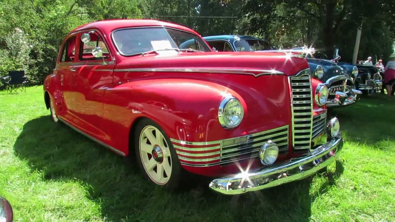 1946 Packard Clipper Exterior and Interior - 2012 Beaconsfield ...