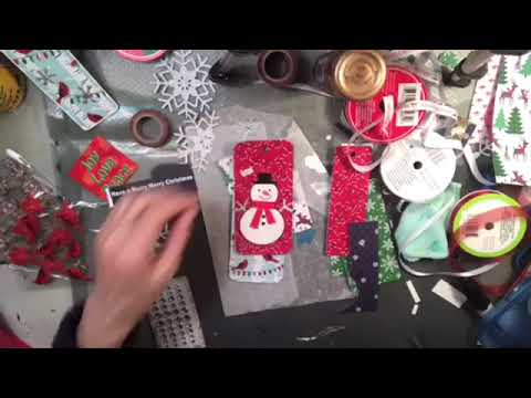 Recycled Christmas Tags - Part Two