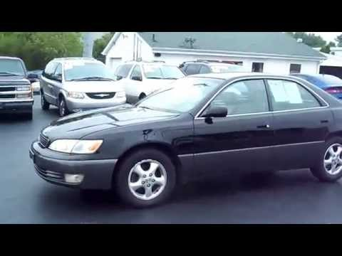 SOLD 1999 Lexus ES 300 Luxury Sport 4dr Sdn For Sale Cincinnati Ohio