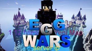 Mineraft egg wars Bölüm 1  nasıl girilir ve premiumsuz server ıp 2018(Ban yedim)
