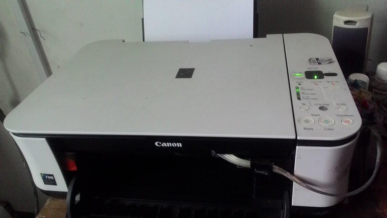 Cara Melepas Catridge Canon Youtube Printer Mp 287 Infus Kotak Kunci