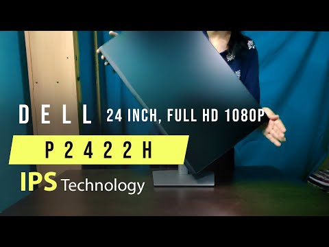 Dell P2422h Monitor Unboxing and Review