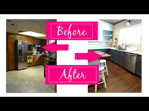 DIY Kitchen Remodel | Before and After