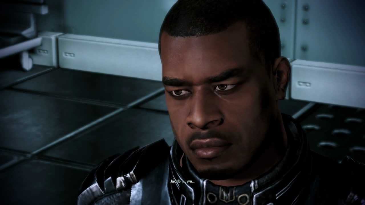 Image result for shepard talking to jacob