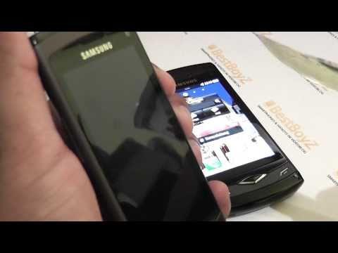 Kratzertest / Scratch test: Samsung GT-S8500 Wave | BestBoyZ