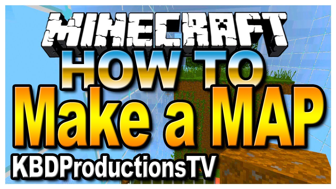 Minecraft - How to Make a Map BIGGER (2013)