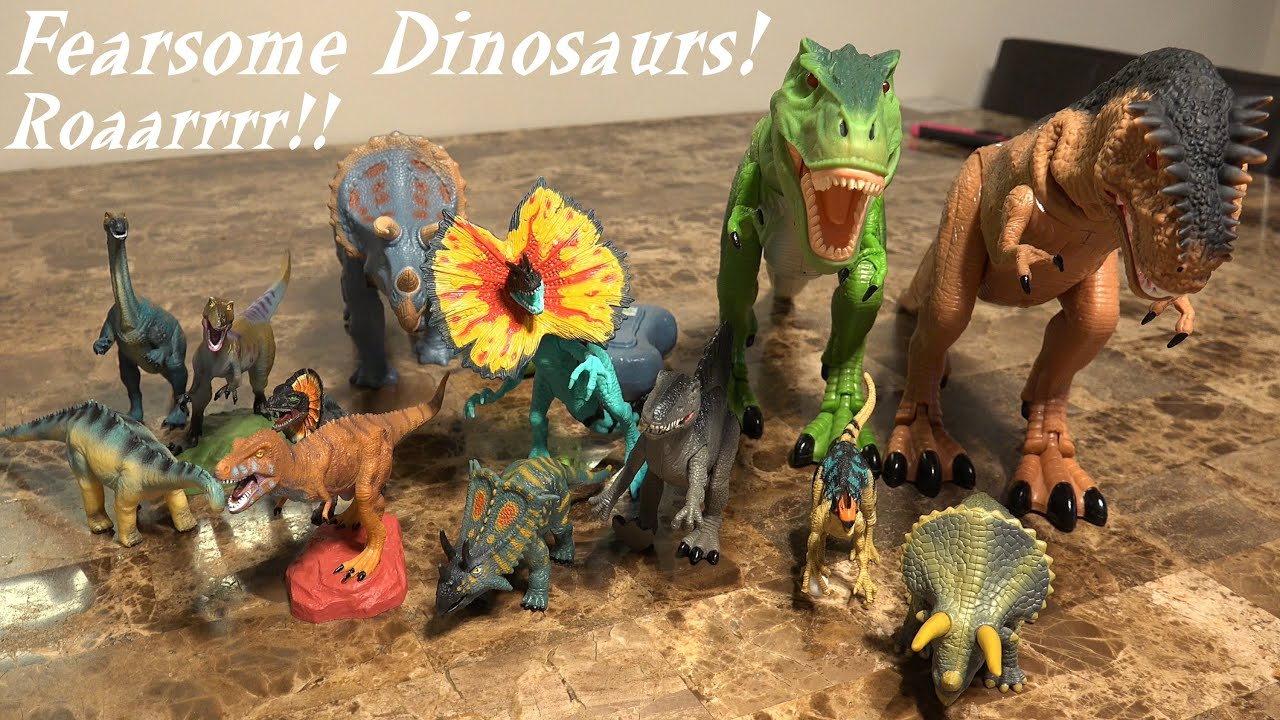 Dinosaurs Toys Collection : Jurassic dinosaurs hulyan s growing dinosaur toy