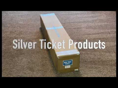 Silver Ticket Products STR WAB Series Fixed Frame Projection Screen Assembly And Installation