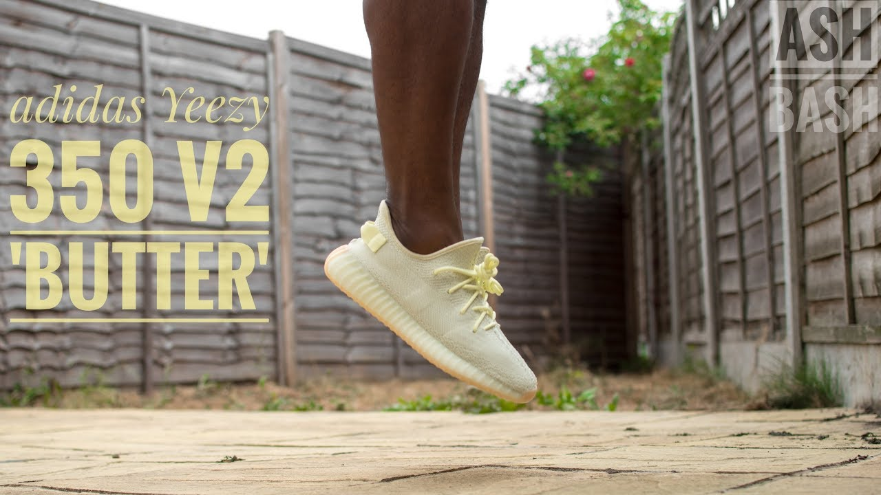 Review + On Foot | adidas Yeezy 350 V2 'Butter' | Ash Bash