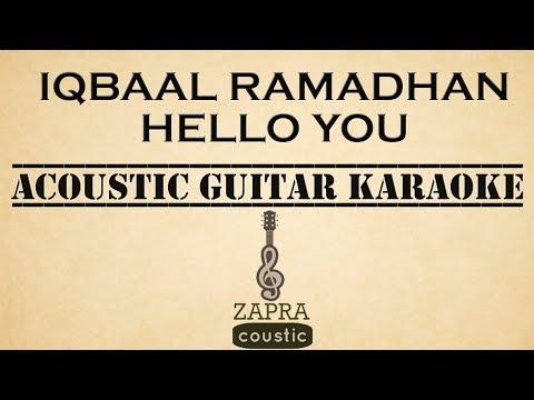 Iqbaal Ramadhan - Hello You (Acoustic Guitar Karaoke)