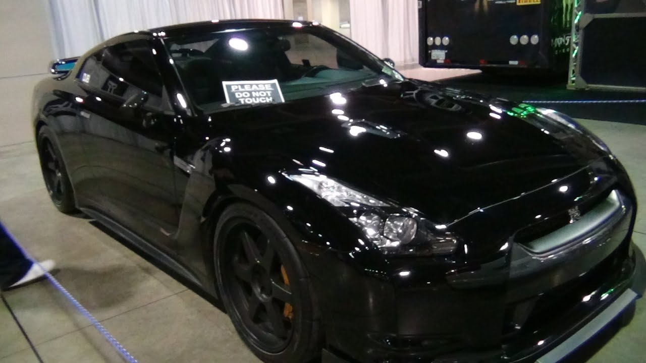 Gourgeous 2012 Nissan R35 Gt R Blacked Out Youtube