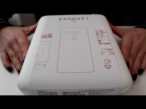 HTC Exodus 1 Unboxing | What's inside?