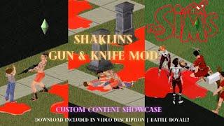 Скачать The Sims 1 Gun Knife Mod