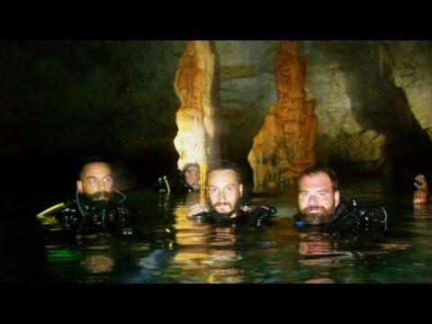 Elephant's Cave underwater dive in Crete, Chania (2015) (Κατάδυση στο σπήλαιο Ελεφάντων)