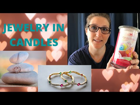 Jewelry In Candles Rep Info: scent samples