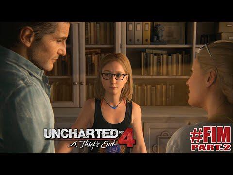 UNCHARTED 4 | #FIM Part.2 | Cassie - Final Feliz (GAMEPLAY EM PORTUGUÊS)