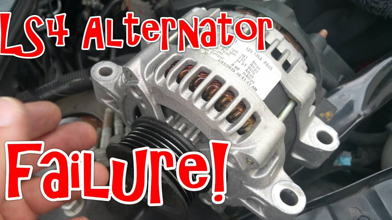 2008 Pontiac Grand Prix Gxp Ls4 Alternator Failure
