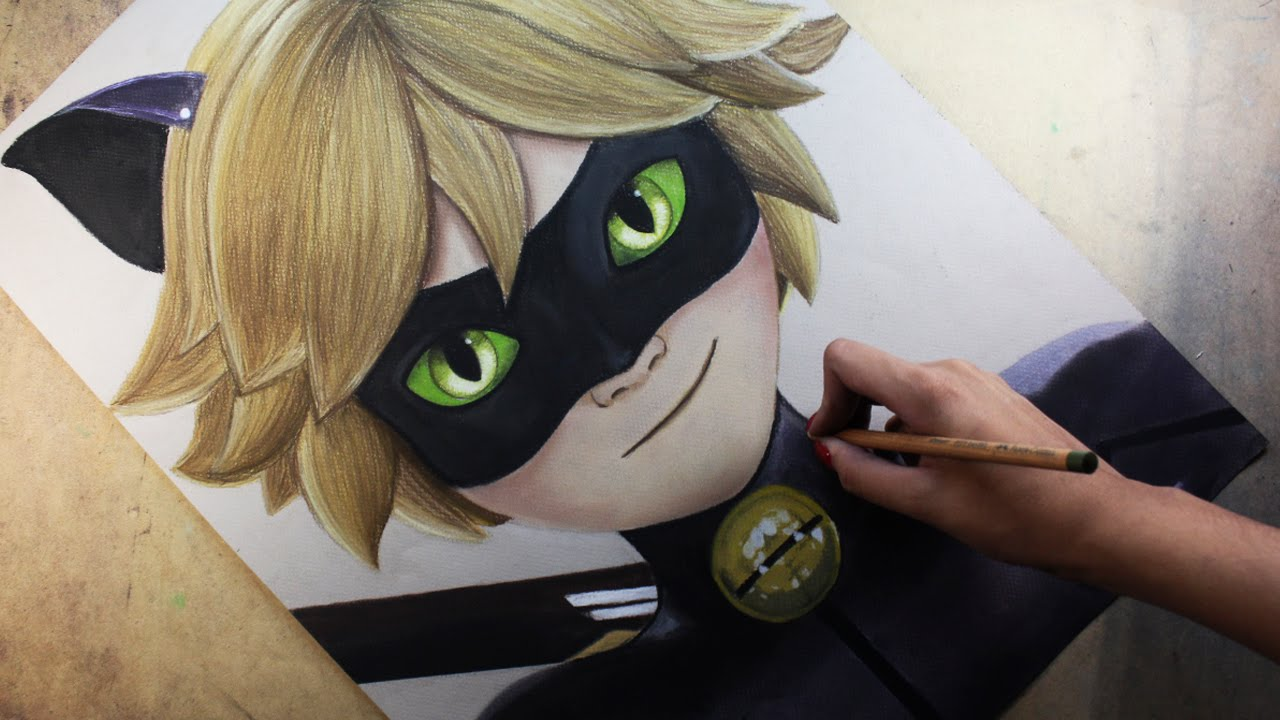 How To Draw Cat Noir Anime