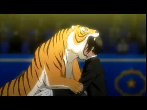 Kuroshitsuji Book of Circus - Sebastian Tiger Scene XD