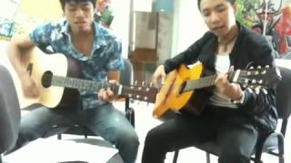 Fpt-arena club guitar-Lá cờ - Đại Cường Dương ft Quý BQ ( Lớp H1208A)
