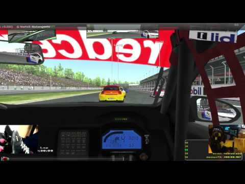 rFactor2: VCRC-TC - Brno race onboard
