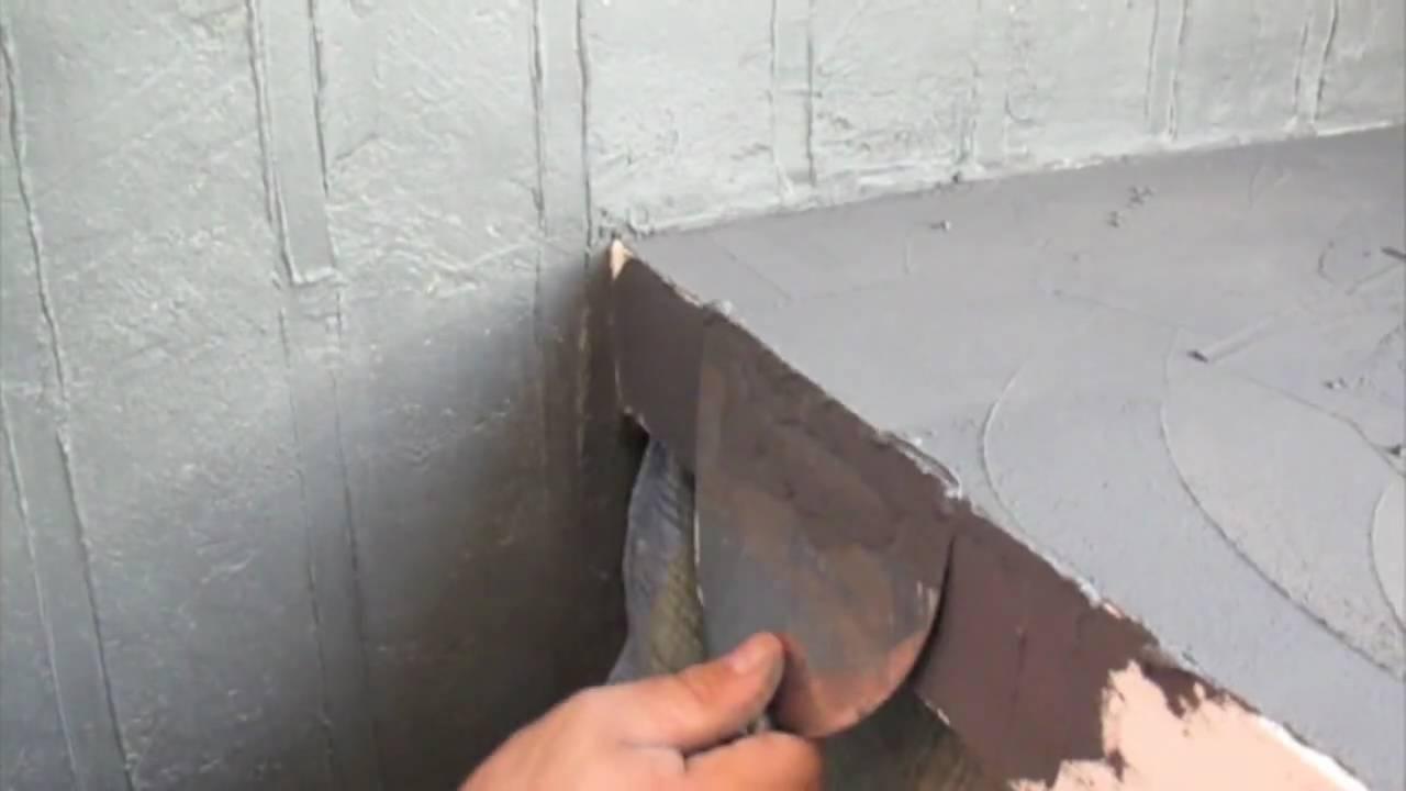 beton cire arbeitsplatte selber machen