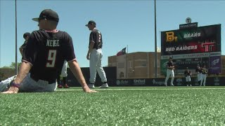 Texas Tech Baseball run rules Baylor