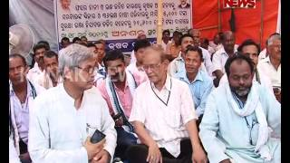 Navnirman Krushak Sangathan Protest