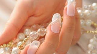 Свадебный маникюр.💎  Wedding manicure.💍