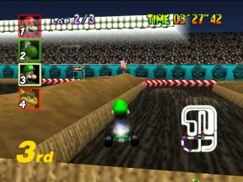 Project64 - Mario kart 64 มาเเข่งรถกัน