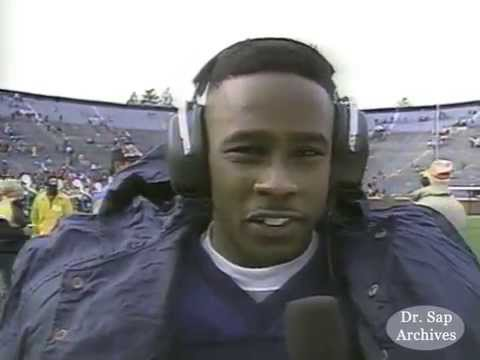 1991 Purdue Michigan Desmond Howard Postgame Interview