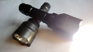 видео Светодиодный фонарь своими руками