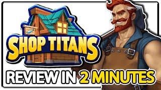 An Addicting Shop Management Simulation Game! - Shop Titans Review