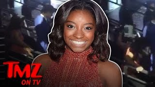 Simone Biles is one very talented Gymnast but walking in heels is s...