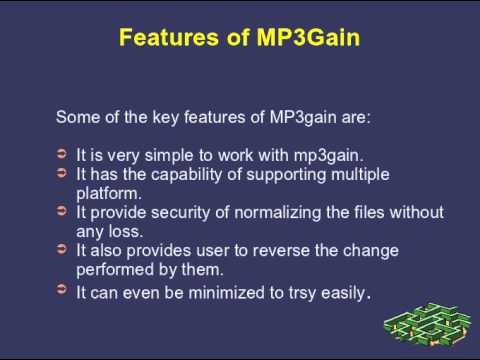 How to normalize MP3 using MP3Gain