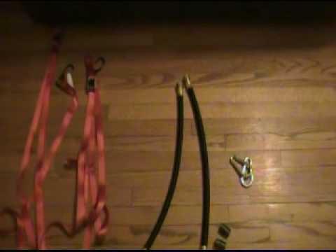 Homemade Gymnastic Rings