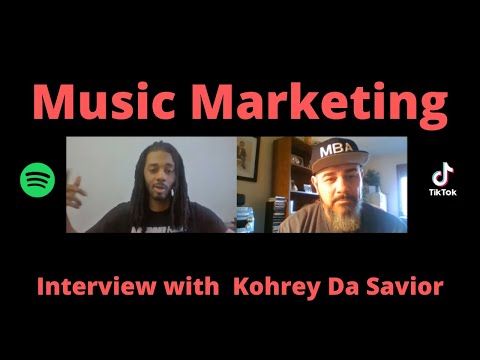 Kohrey Da Savior Interview – Spotify, Tiktok, & Music Marketing