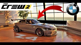 The Crew 2 custom + test BMW Z4