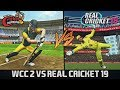 REAL CRICKET 19 VS WCC 2