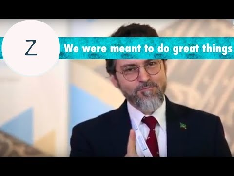 Good advice: We were meant to do great things as a species. - Shaykh Hamza Yusuf
