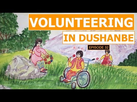 Volunteering in Dushanbe EP#32 | Cycling The Silk Road