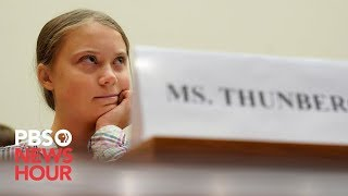 WATCH: Greta Thunberg and other young climate activists go before House subcommittee