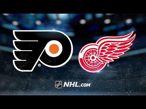 Red Wings blank Flyers, inch closer to playoff berth